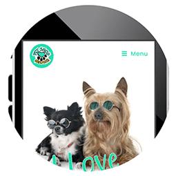 Criação de Site Mobile para Pet Shop